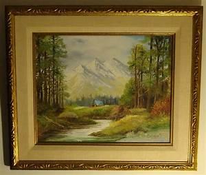 Paul Lehmann-Brauns Framed Orig. Landscape Oil Painting on ...