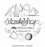 Clipart Ceramic Pottery Clay Tools Wheel Hand Workshop Drawing Sculpting Clipground Working sketch template