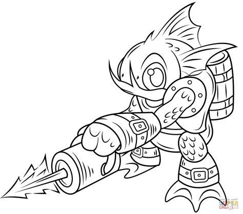 Skylanders Drill Sergeant Coloring Pages Wwwpixshark