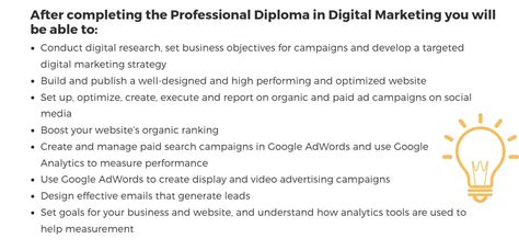 professional diploma in digital marketing professional diploma in digital marketing imarcomms