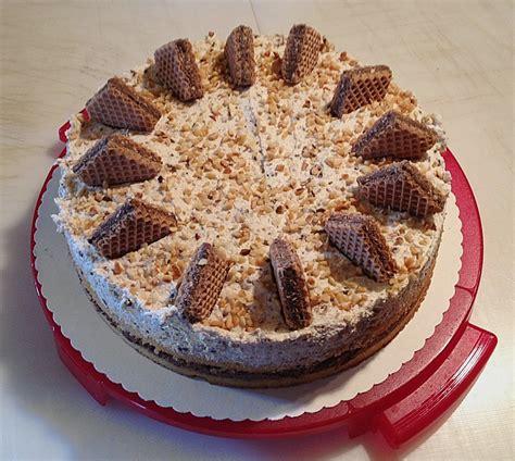 hanuta torte rezept mit bild von klothilde