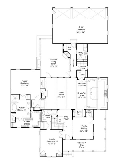 Southern Living Garage Plans by Level House Plans Farmhouse Floor Plans Small
