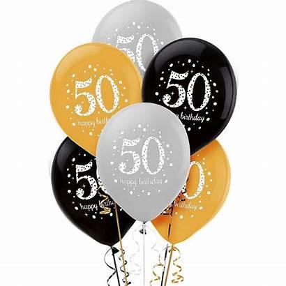 Birthday 50th Balloon Celebration Sparkling Balloons 60th
