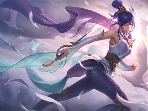 fiora league  legends full hd wallpaper