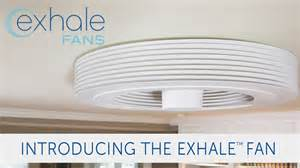 exhale fans launches its bladeless ceiling fan on indiegogo youtube