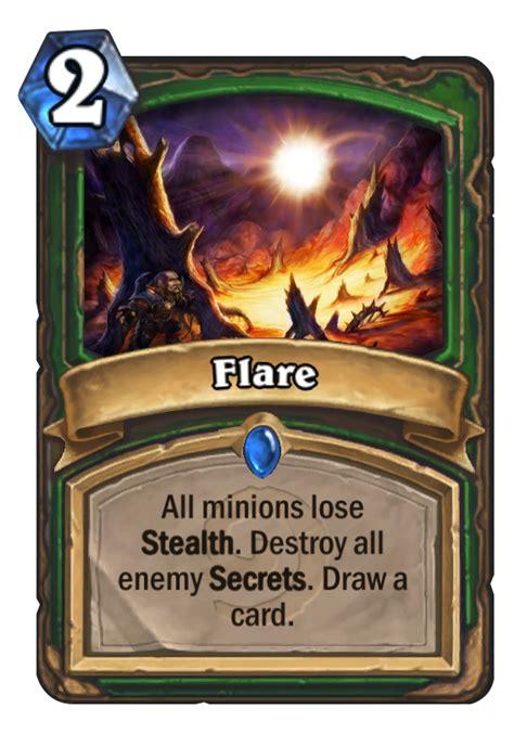flare hearthstone card