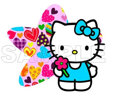 hello kitty t shirt iron on transfer decal 19