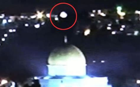 Image result for orb over the dome of the rock
