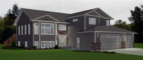 bi level home plans bi level garage additions modified bi level with 3 car