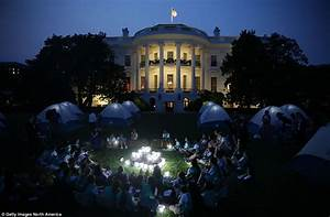 Michelle Obama hosts Girl Scout campout on White House ...