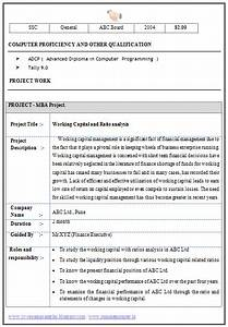 over 10000 cv and resume samples with free download mba With resume format for mba finance experienced
