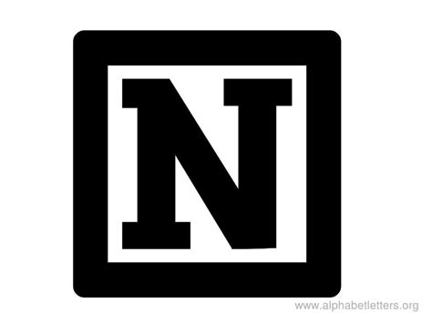 11 letter n on vimeo letters n clipart 005 iron on stickers heat transfer 69434