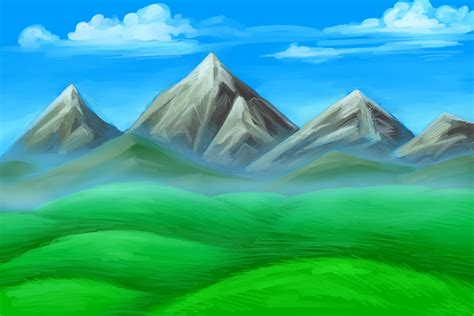 range ideas kitchen simple mountain drawings mountains drawing building