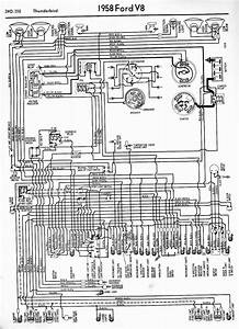 Wiring Diagrams Of 1958 Ford Thunderbird  U2013 Circuit Wiring