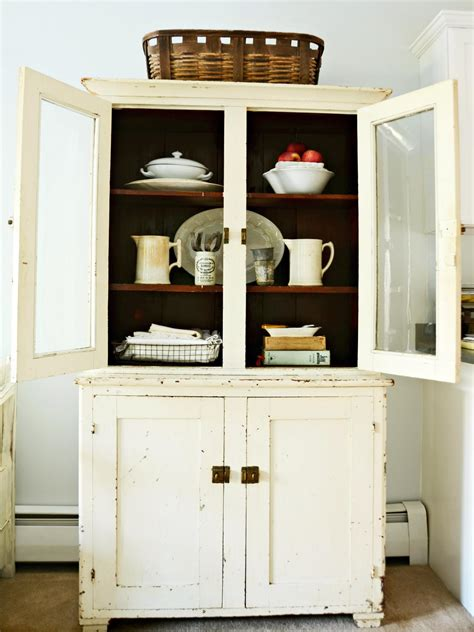 kitchen furniture hutch give a kitchen character with flea market finds kitchen