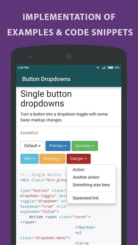 Learning Bootstrap  Tutorial  Android Apps On Google Play