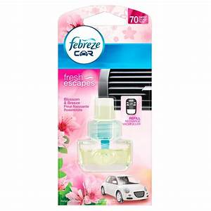 Febreze Car Air Freshener Refill Blossom & Breeze | eBay