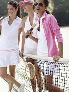 The Pink and Green Prep Tennis Whites (you KNOW they are laughing AT someone! mean girls having ...