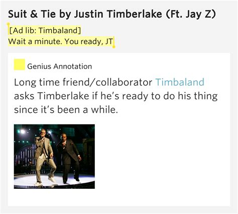 Ad Lib Timbaland Wait A Minute You Ready Jt Suit
