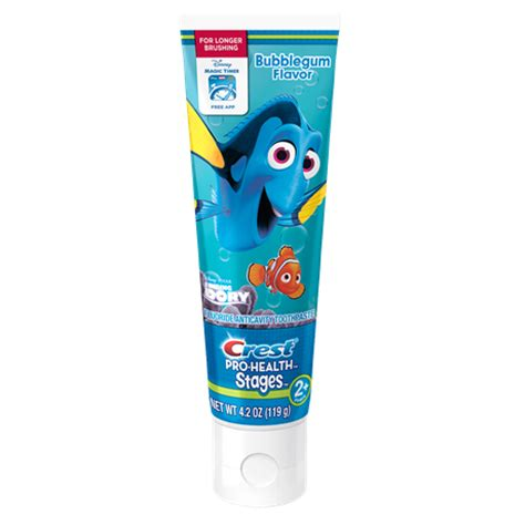 pro health stages disney finding dory toothpaste crest