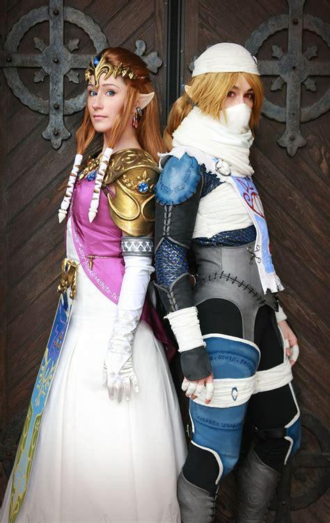 Zelda Sheik Cosplay Legend Of Zelda Pinterest