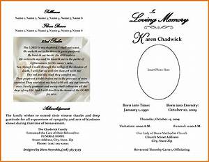 free obituary template cyberuse With obituary template word document