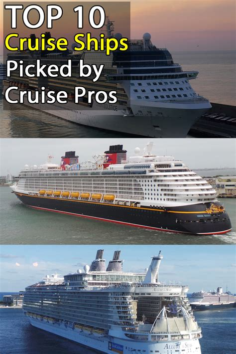 Top 10 Cruise Ships By Travel Professionals Cruisesource