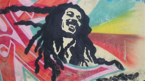 full hd wallpaper bob marley graffiti smile rastafari