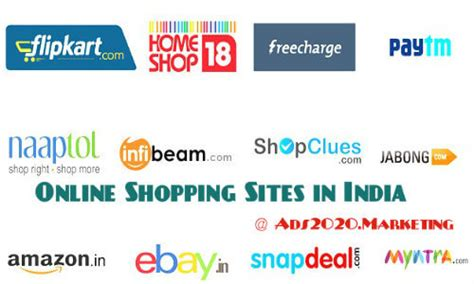 50 Best Indian Online Shopping Sites List Of Top