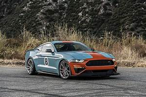 Roush Unveils 710 HP Gulf Racing-Liveried 2019 ROUSH Stage 3 Mustang