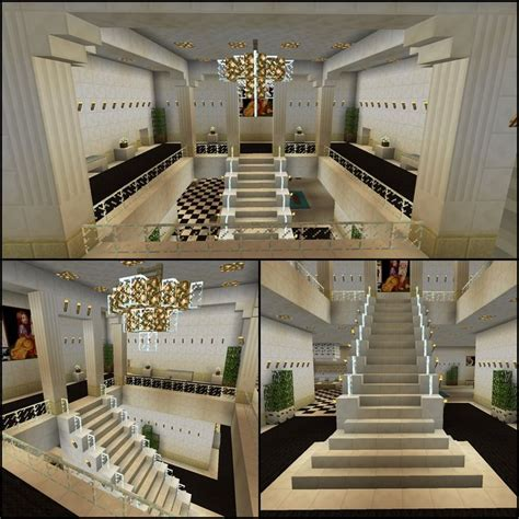 minecraft glass stairs chandelier staircase charles pctr