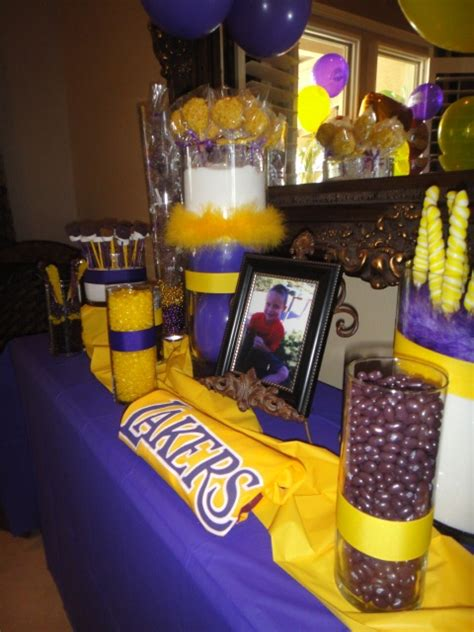images  lakers party  pinterest birthdays