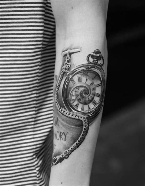 100 Awesome Watch Tattoo Designs | Cuded