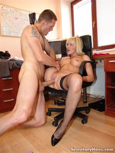 Blonde Secretary Natalli Fucking Her Boss A Xxx Dessert