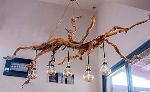 Lustre En Bois Flotté : lustre en bois lustre blanc batailleaseattle ~ Dailycaller-alerts.com Idées de Décoration