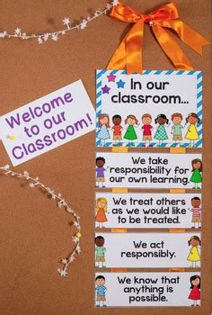 classroom posters  classroom expectations