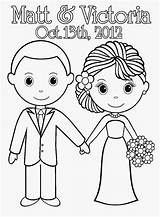 Coloring Wedding Pages Printable Sheets Bride Groom Couple Sheet Activity Weddings Books Colouring Print Adult Married Template Dead Cinderella Barbie sketch template