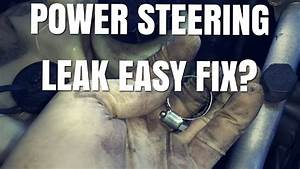 Here Is How To Fix A Common Power Steering Hose Clamp Leak