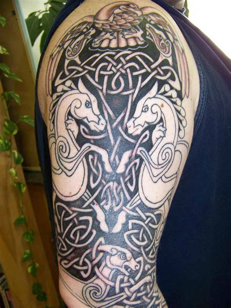 celtic sleeve tattoo