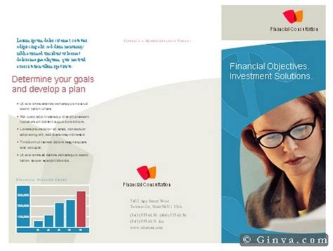 Informational Brochure Templates Free by Free Microsoft Office Brochure Templates Ginva
