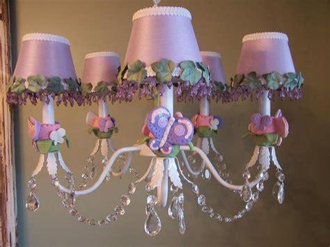 Purple Chandeliers For Girls Room