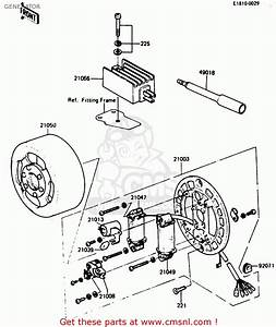Kawasaki Kh125k5 1987 Usa Generator