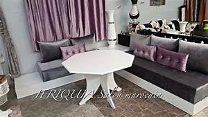 Salon Marocain Blanc : g photos ifriquia valence salons orientaux sur mesure ~ Nature-et-papiers.com Idées de Décoration