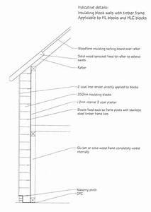 Insulating Block Walls Diagram