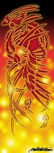 phoenix tribal - fire mode by theredphoenix on deviantART