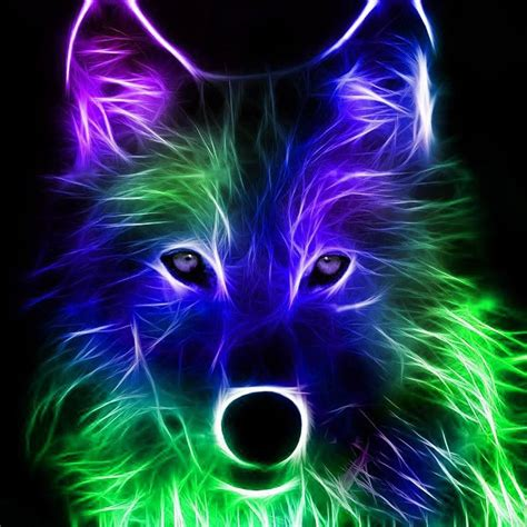 Cool 3d Animal Wallpapers - neon animals wallpapers wallpaper cave