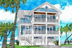 Darling Beach House Plan With Front And Back Double