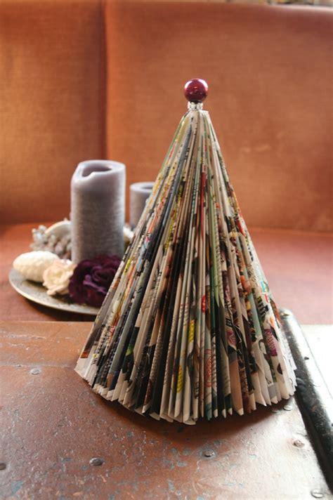 diy weihnachtsbaum aus einer zeitschrift ruhrpottkidscom
