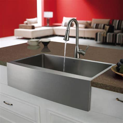 the kitchen sink nyc vigo premium series farmhouse stainless steel kitchen sink