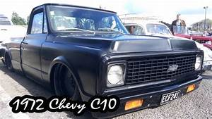 1972 Chevy C10 Pickup Truck - Slammed And Bagged